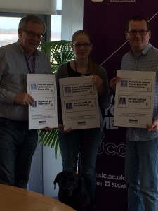'SLC College Principal Stewart McKillop and students help us launch our online bigotry awareness campaign