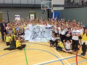 Lanarkshire schools team up for Football People campaign