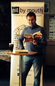 Daniel read from a variety of his books