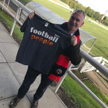 Borders Backing for 'Football People'